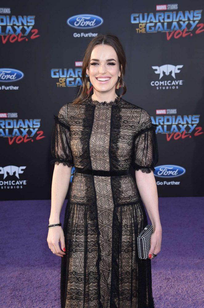 Elizabeth Henstridge - 'Guardians of the Galaxy Vol. 2' Premierein LA
