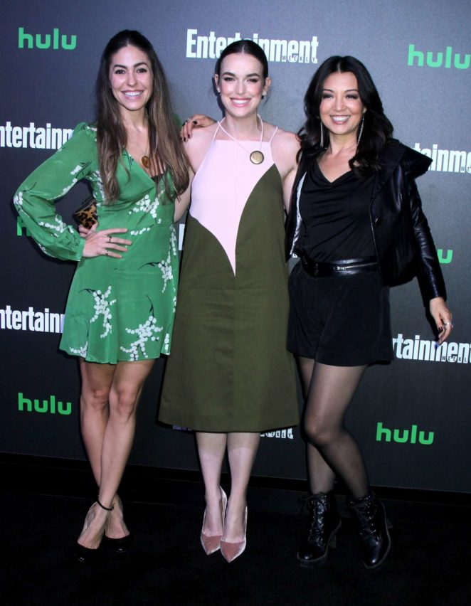 Elizabeth Henstridge - Hulu Entertainment Weekly New York Comic Con After Party