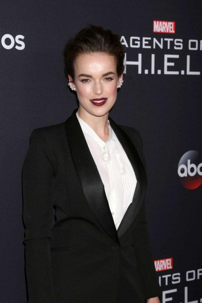 Elizabeth Henstridge – 'Marvel's Agents of S.H.I.E.L.D.' 100th episode celebration in Hollywood