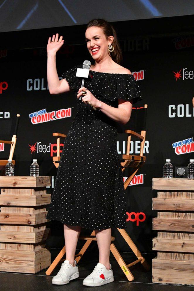 Elizabeth Henstridge - 'Marvel's Agents of S.H.I.E.L.D.' panel at 2017 NY Comic Con