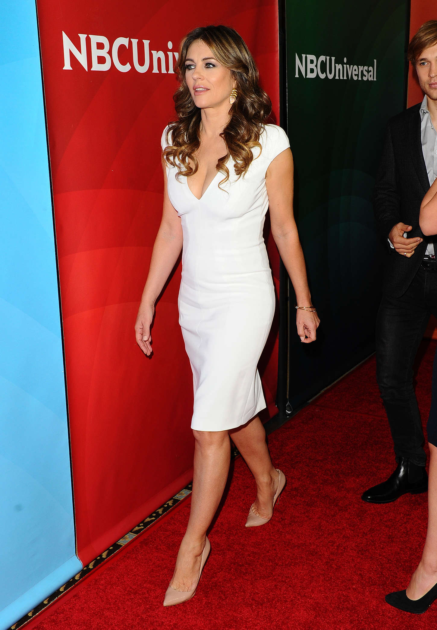 Elizabeth Hurley: 2015 NBCUniversal Press Tour Day 1 -18 ... Katy Perry Tour