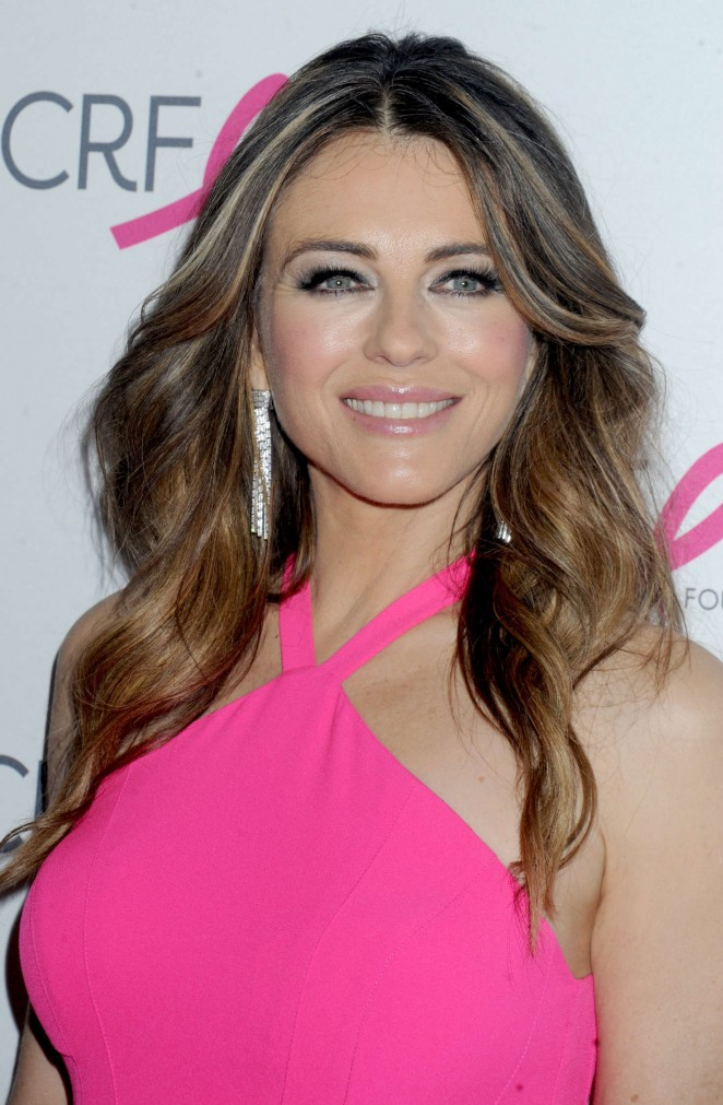 Elizabeth Hurley - 2016 Breast Cancer Research Foundation Hot Pink Party in NYC