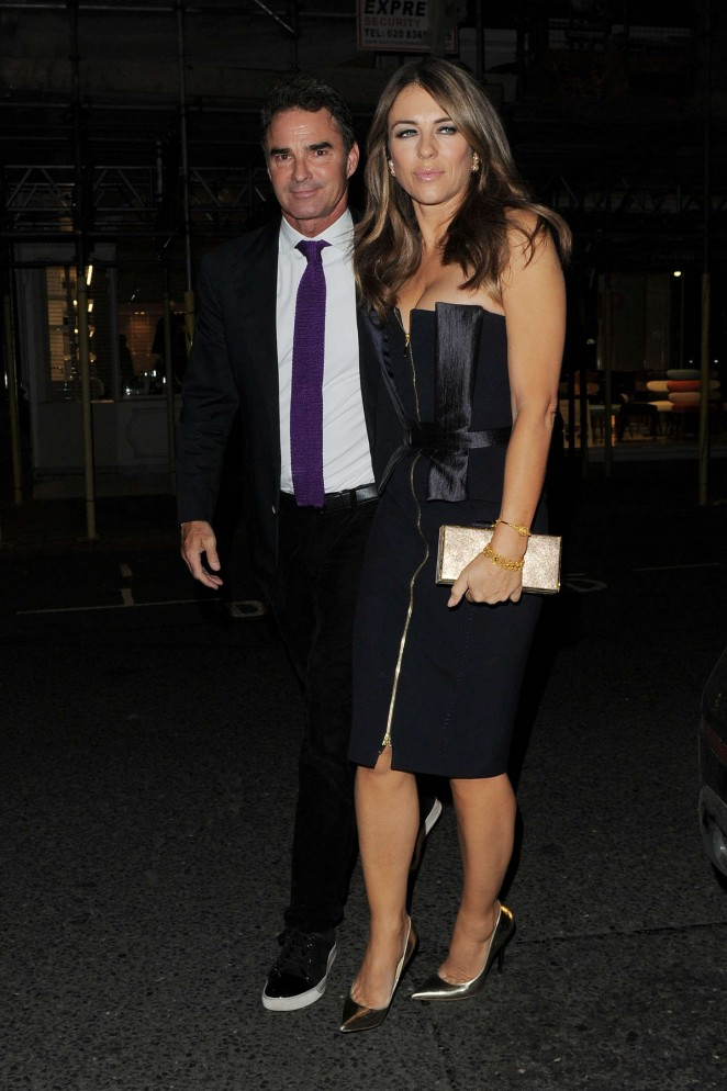 Elizabeth Hurley - Amanda Wakeley 25th Anniversary Party in London