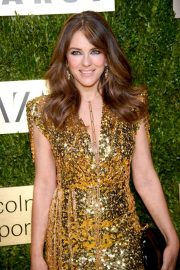Elizabeth Hurley - An Evening Honoring Leonard A. Lauder in NYC
