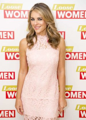 Elizabeth Hurley at Loose Women in London