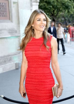 Elizabeth Hurley attends at V&A Summer Party 2017 in London