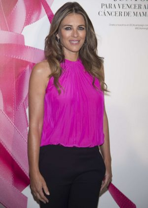 Elizabeth Hurley - Breast Cancer Prevention Event in Madrid