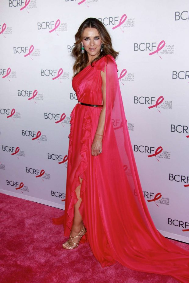 Elizabeth Hurley: Breast Cancer Research Foundation Hot Pink Party-10