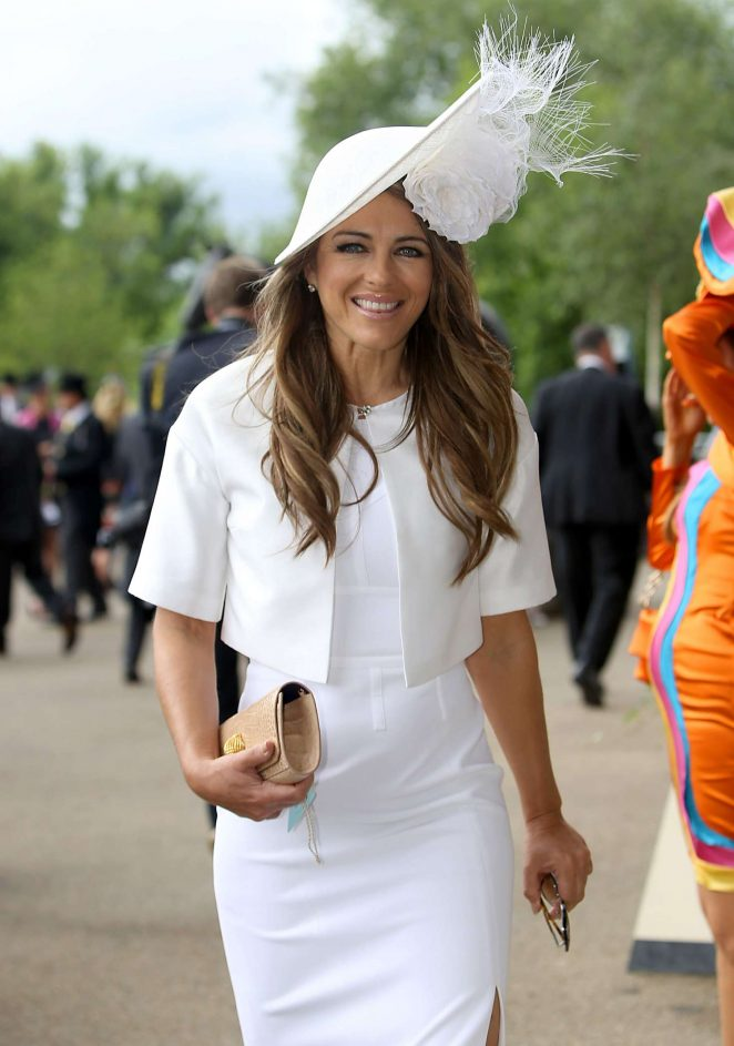 Elizabeth Hurley - Day 1 of Royal Ascot at Ascot Racecourse in Ascot