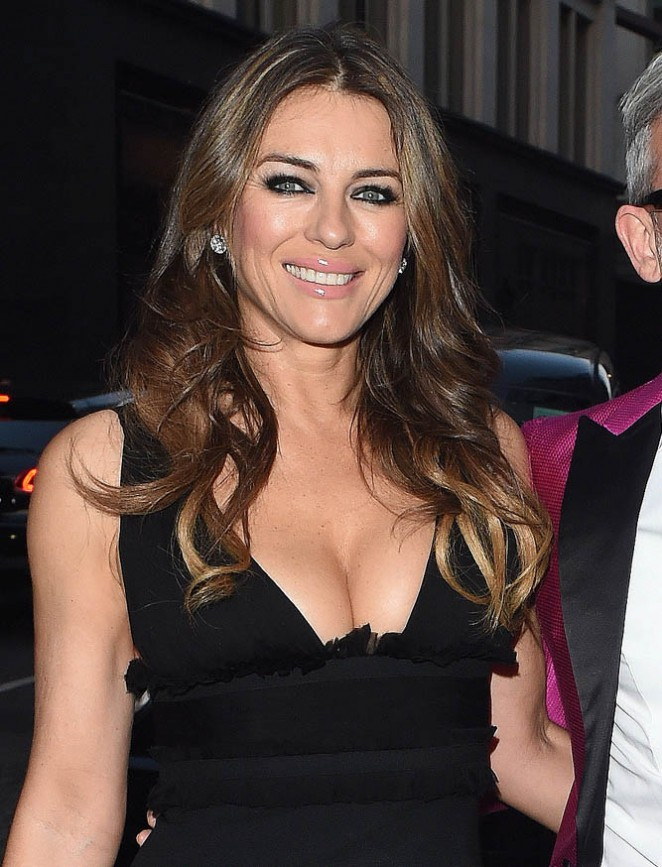 Elizabeth Hurley - Dsquared2 London Flagship Opening in London