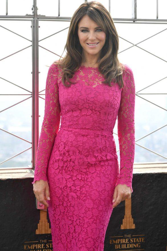 Elizabeth Hurley - Estee Lauder Company's 2019 Breast Cancer Campaign in NY