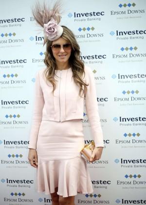 Elizabeth Hurley - Investec Derby Festival in Epsom