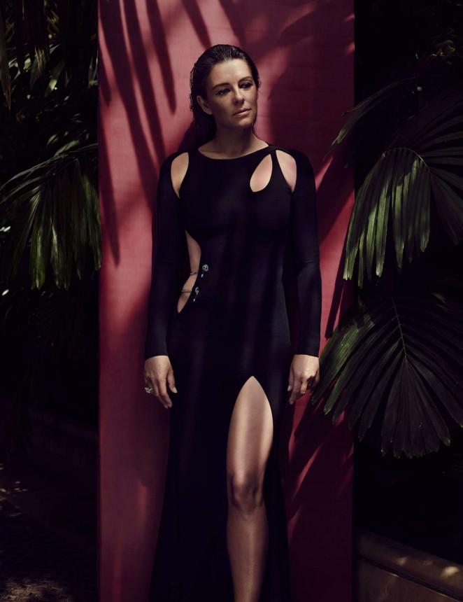 Elizabeth Hurley - Love Magazine (Autumn/Winter 2015)
