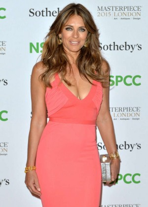 Elizabeth Hurley - NSPCC Fundraiser in London