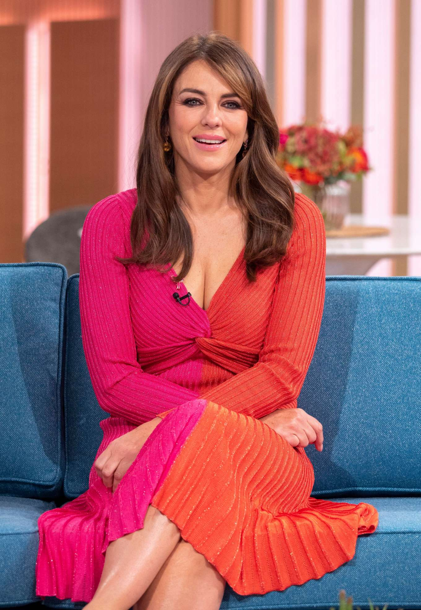 Elizabeth Hurley - On 'This Morning' TV Show in London