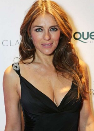 Elizabeth Hurley - QBF Spring Gala 2015 in London