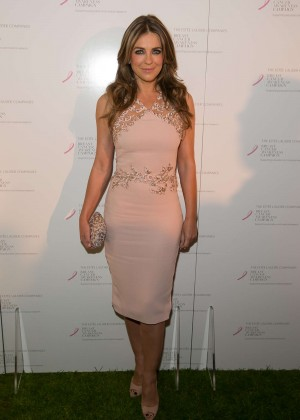 Elizabeth Hurley - The Estee Lauder Co UK Breast Cancer Awareness Campaign in London
