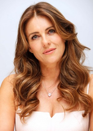 Elizabeth Hurley - 'The Royals' Press Conference in Beverly Hills