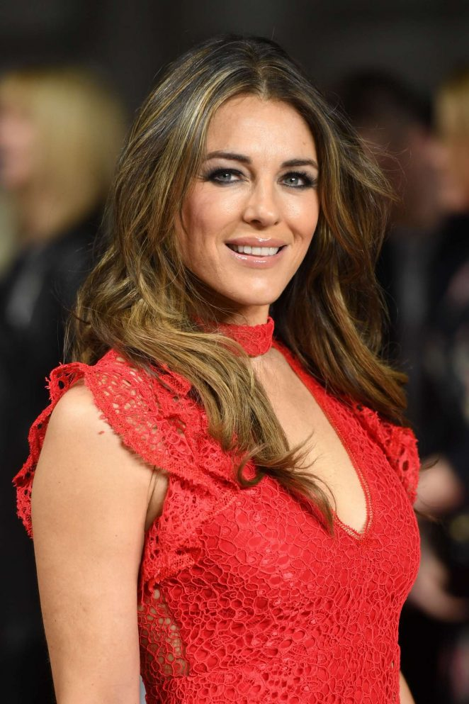 Elizabeth Hurley – 'The Time Of Their Lives' Premiere in London