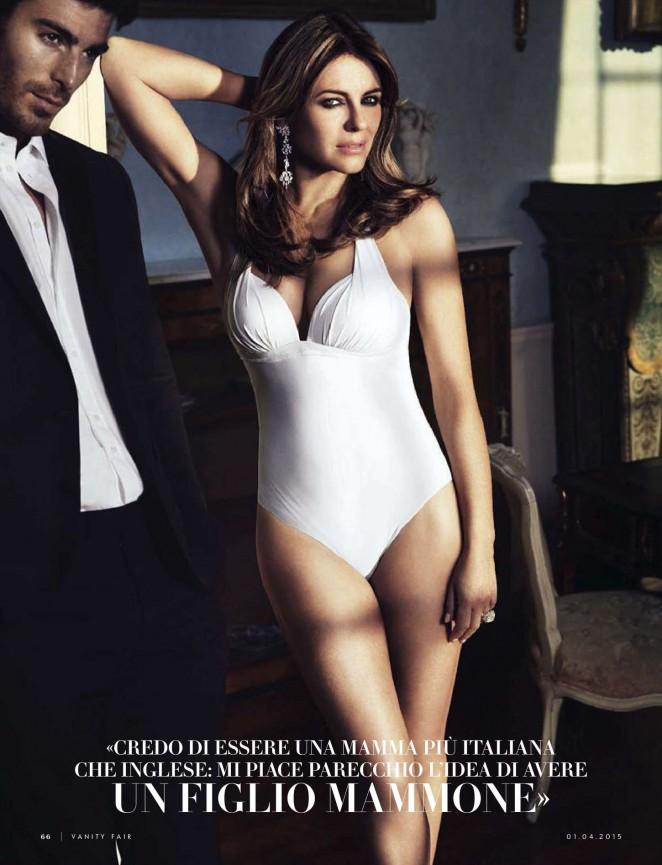 Elizabeth Hurley - Vanity Fair Italy Magazine (April 2015)
