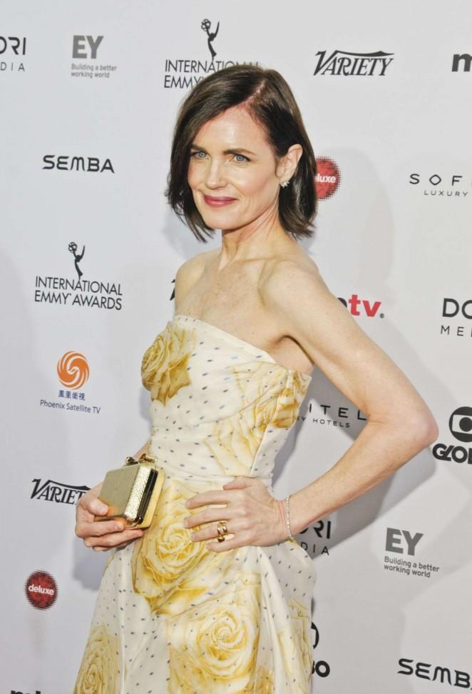 Elizabeth McGovern - 2015 International Emmy Awards in New York