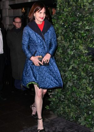 Elizabeth McGovern - BAFTA Nespresso Nominees' Party in London