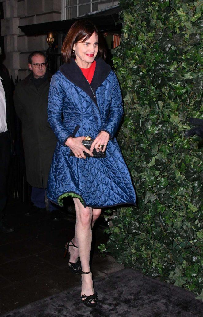 Elizabeth McGovern - BAFTA Nespresso Nominees' Party in London