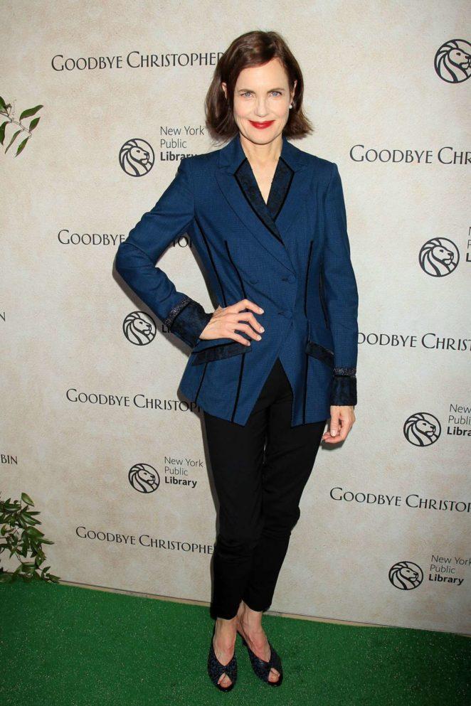 Elizabeth Mcgovern - 'Goodbye Christopher Robin' Premiere in New York