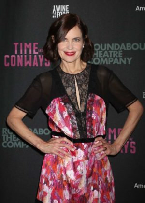 Elizabeth Mcgovern - Time And The Conways Opening Night in New York