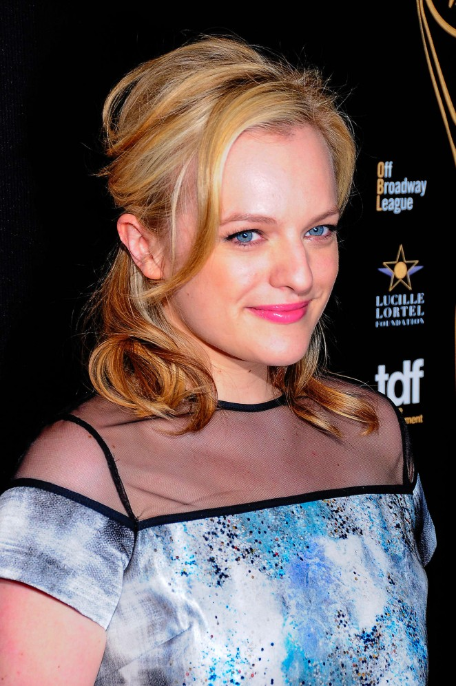 Elizabeth Moss - 2015 Lucille Lortel Awards in NYC
