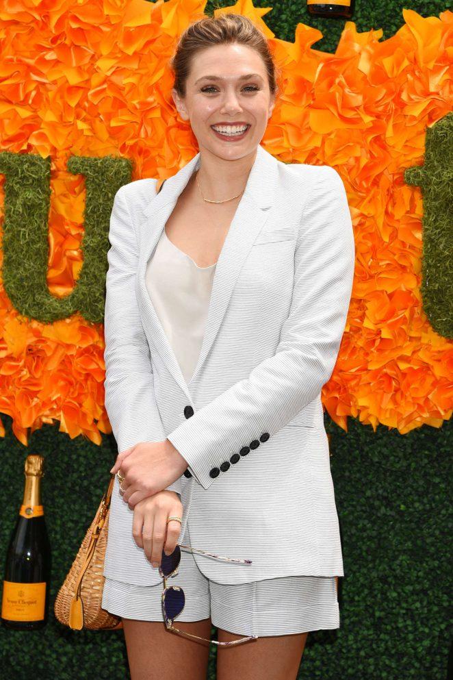 Elizabeth Olsen - 2016 Veuve Clicquot Polo Classic in New Jersey