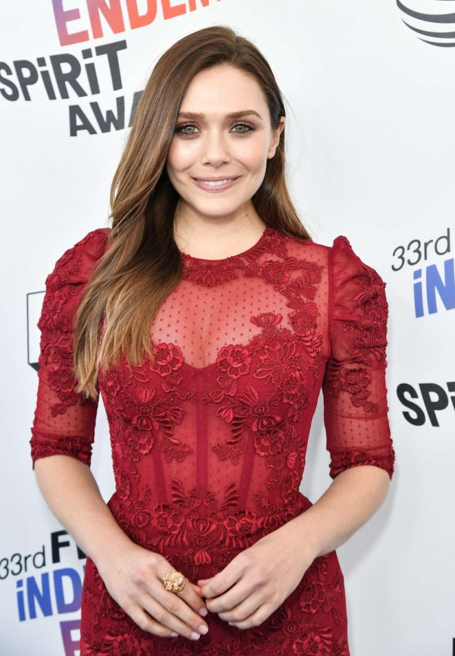Elizabeth Olsen - 2018 Film Independent Spirit Awards in Santa Monica