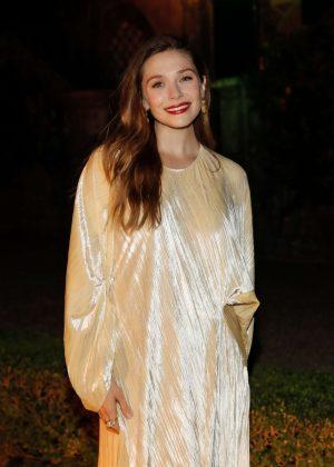 Elizabeth Olsen - 3rd annual Rosetta Getty's Tuscany Weekend in Italy