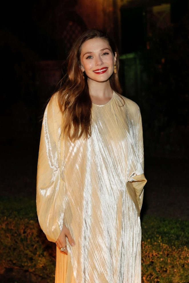 Elizabeth Olsen – 3rd annual Rosetta Getty's Tuscany Weekend in Italy