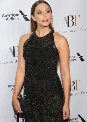 Elizabeth Olsen - American Ballet Theater 2016 Fall Gala in New York