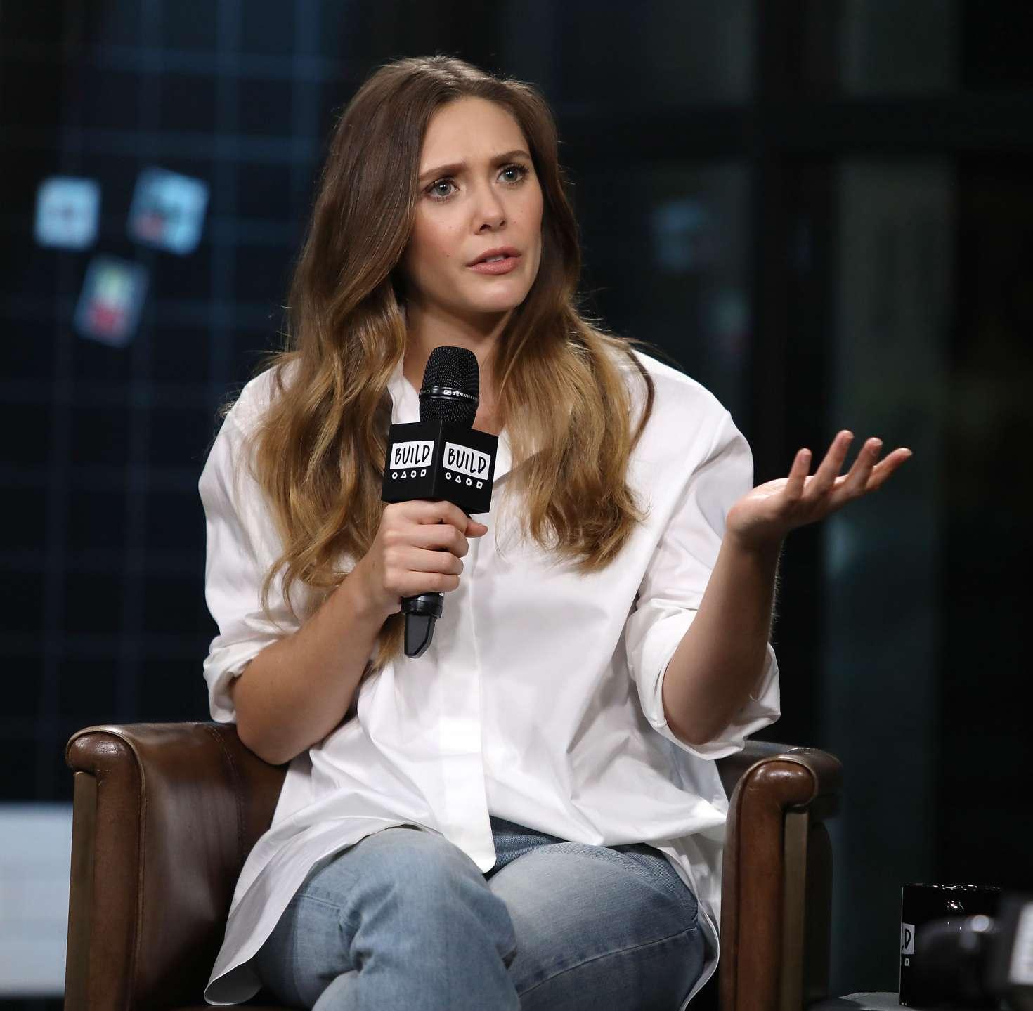 Elizabeth Olsen 2018 : Elizabeth Olsen: AOL BUILD Speaker Series -05