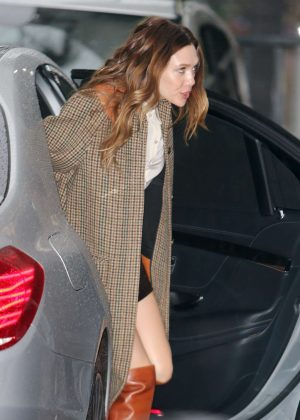 Elizabeth Olsen - Arrives at ITV Studios in London
