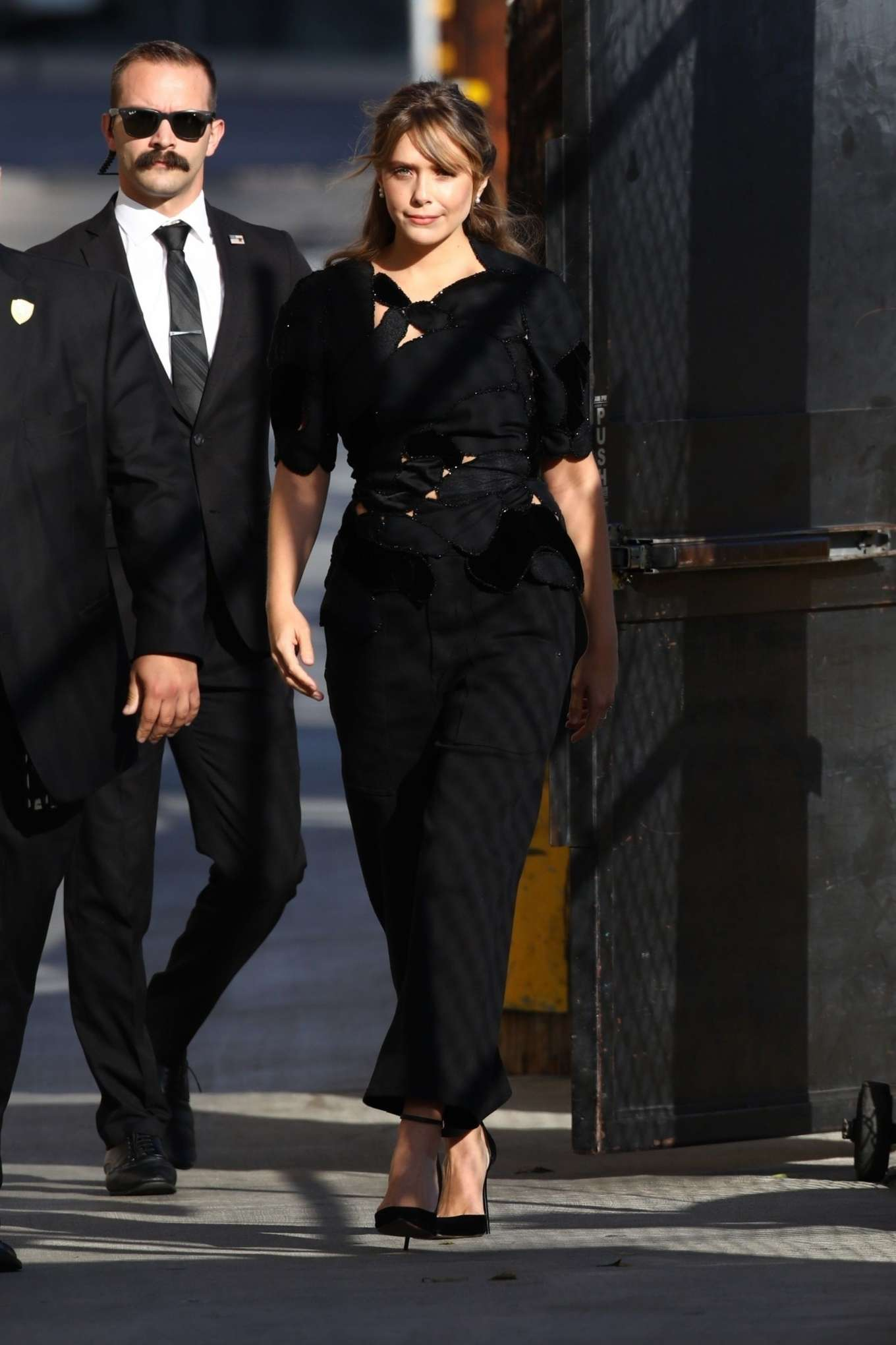 Elizabeth Olsen 2019 : Elizabeth Olsen – Arrives at Jimmy Kimmel Live-11