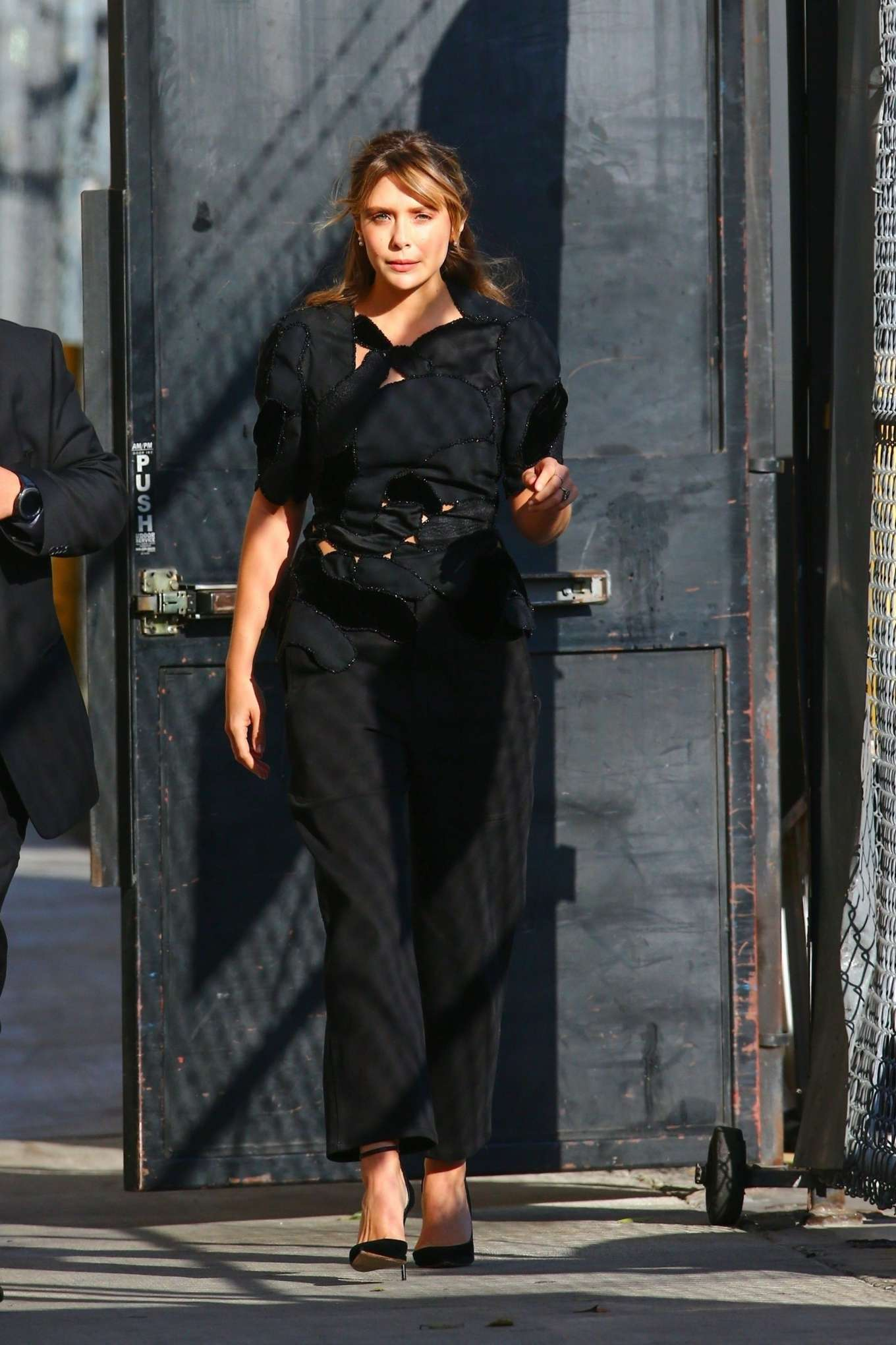 Elizabeth Olsen 2019 : Elizabeth Olsen – Arrives at Jimmy Kimmel Live-14
