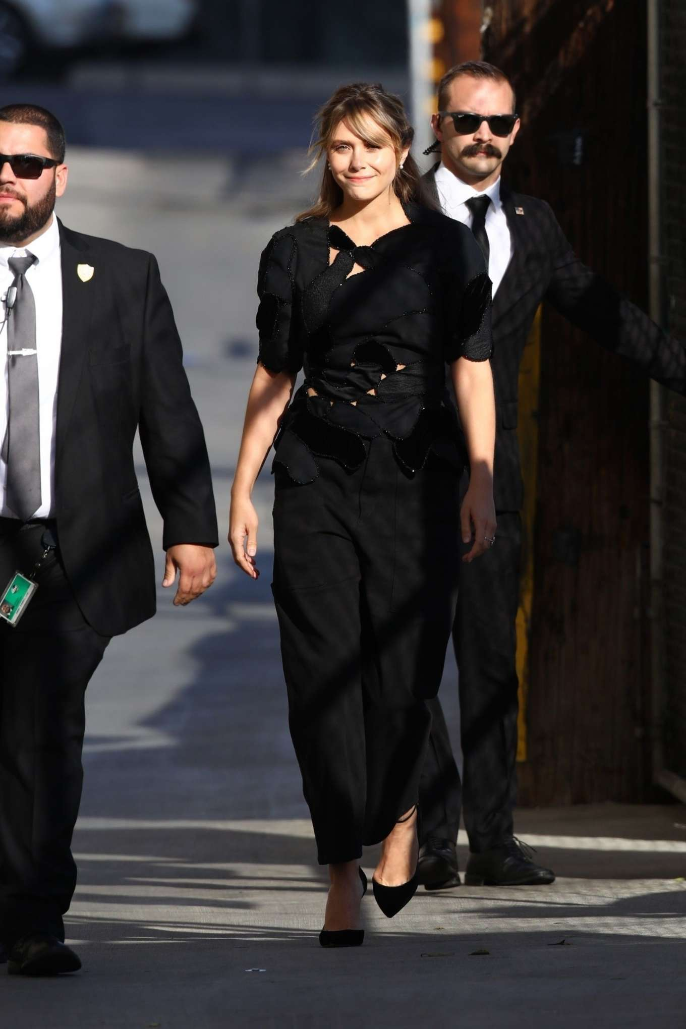 Elizabeth Olsen 2019 : Elizabeth Olsen – Arrives at Jimmy Kimmel Live-24