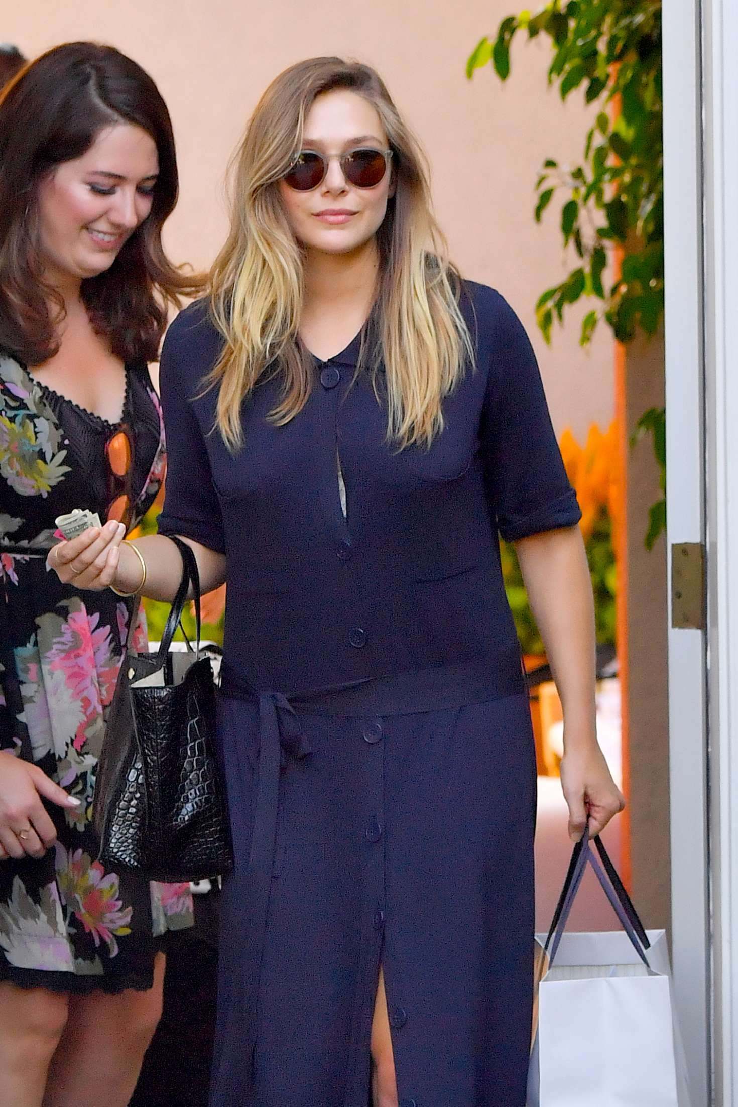 Elizabeth Olsen - Arriving to The in Style Gifting Suite in Brentwood