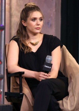 Elizabeth Olsen at AOL Studios in New York City