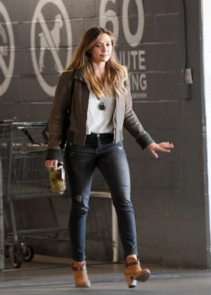 Elizabeth Olsen at Erewhon natural foods in Los Angeles