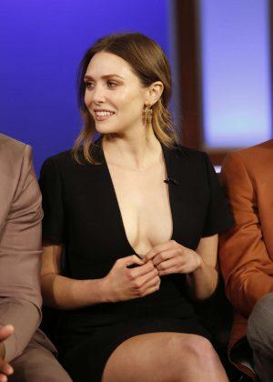 Elizabeth Olsen at Jimmy Kimmel Live! in Los Angeles