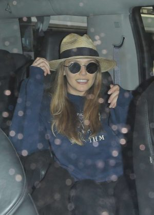 Elizabeth Olsen at LAX Airport in LA