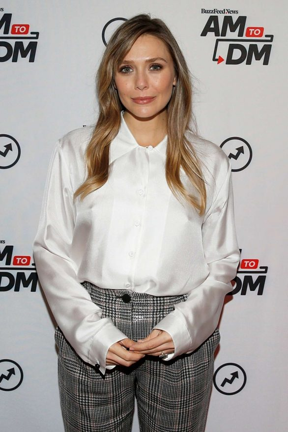 Elizabeth Olsen - Attends BuzzFeed's 'AM To DM' in New York City