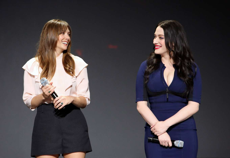 Elizabeth Olsen 2019 : Elizabeth Olsen – Attends D23 Disney event at Anaheim-01
