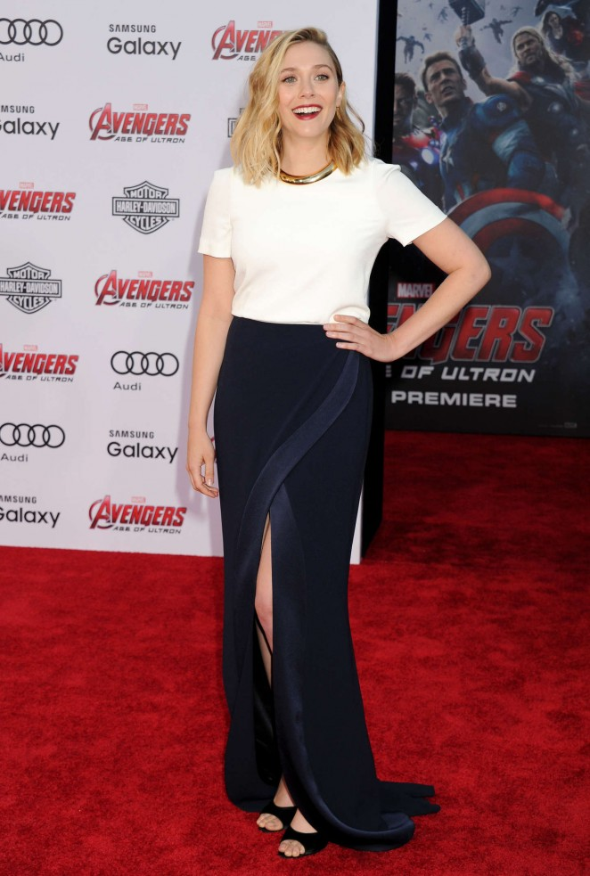 "Elizabeth Olsen - ""Avengers: Age Of Ultron"" Premiere in Hollywood"