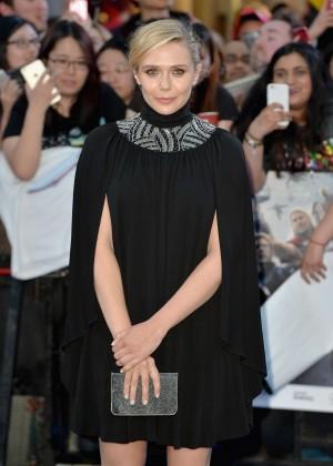"""Elizabeth Olsen - """"Avengers: Age Of Ultron"""" Premiere in London"""