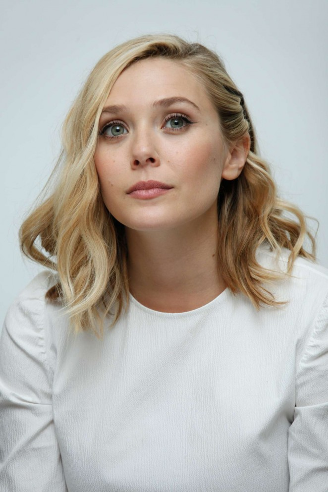 Elizabeth Olsen - 'Avengers: Age of Ultron' Press Conference in Burbank